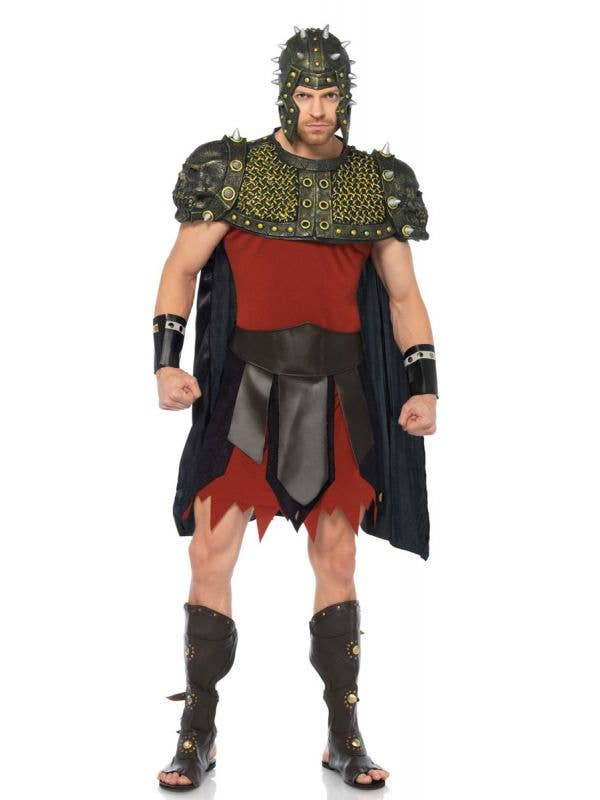 Men's Deluxe Roman Gladiator Costume Main Image