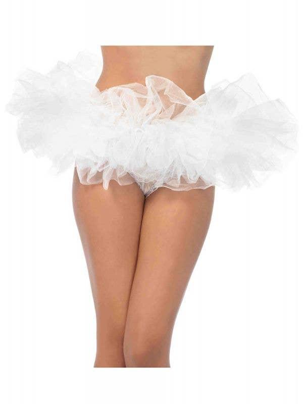 Women's White Angel Petticoat Costume Accessory - Main Image