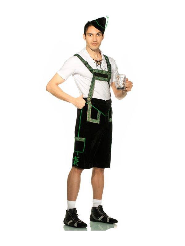 057ce13b95 German Lederhosen Men's Costume | German Man Oktoberfest Costume