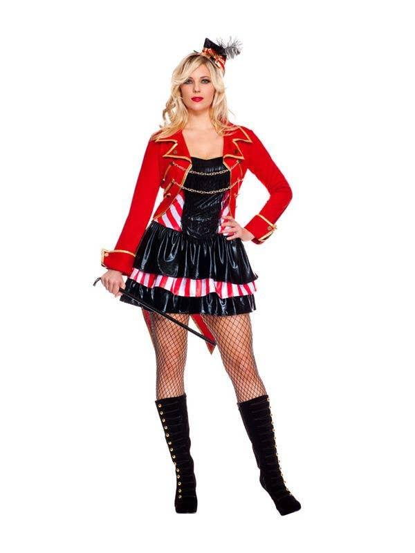 Sexy ring mistress costume