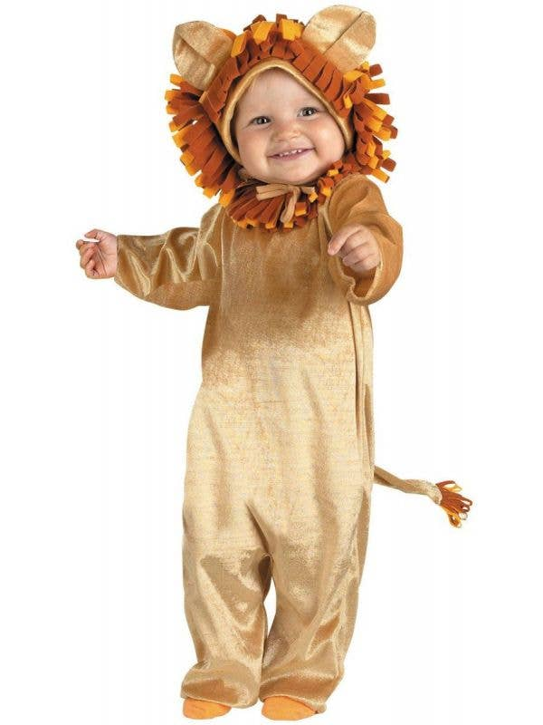 Infant Cuddly Lion Cub Animal Fancy Dress Costume