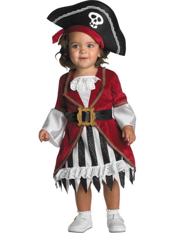 Infant Girls Pirate Princess Fancy Dress Costume