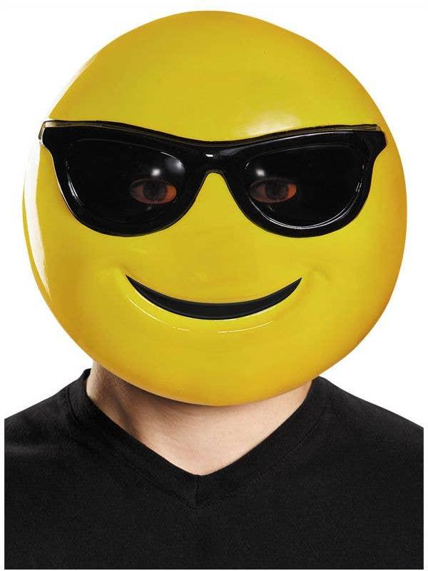 Funny Sunglasses Emoji Adult's Costume Accessory Mask Main Image