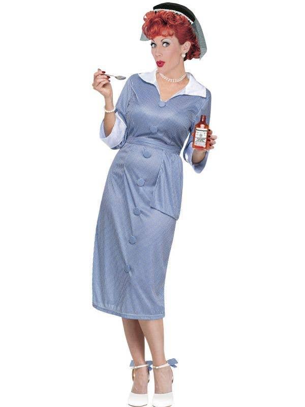 I love lucy women's fancy dress 1950s costumes - main image