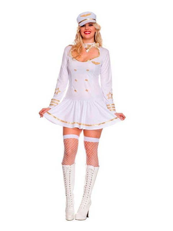 c2cdad33930 First Class Air Crew Plus Size Women's Costume