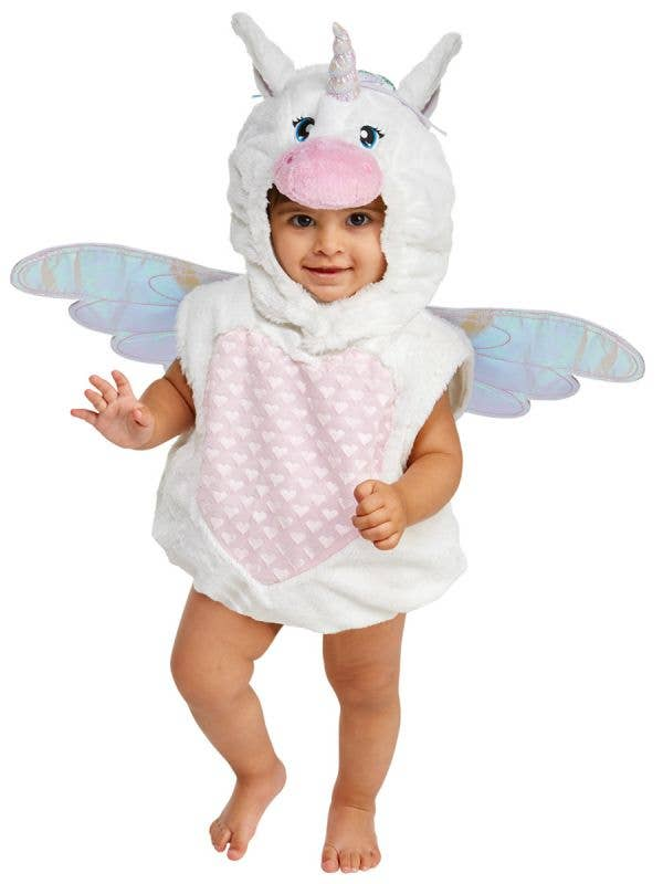 Infant Girls Magical Unicorn Fancy Dress Costume Main Image