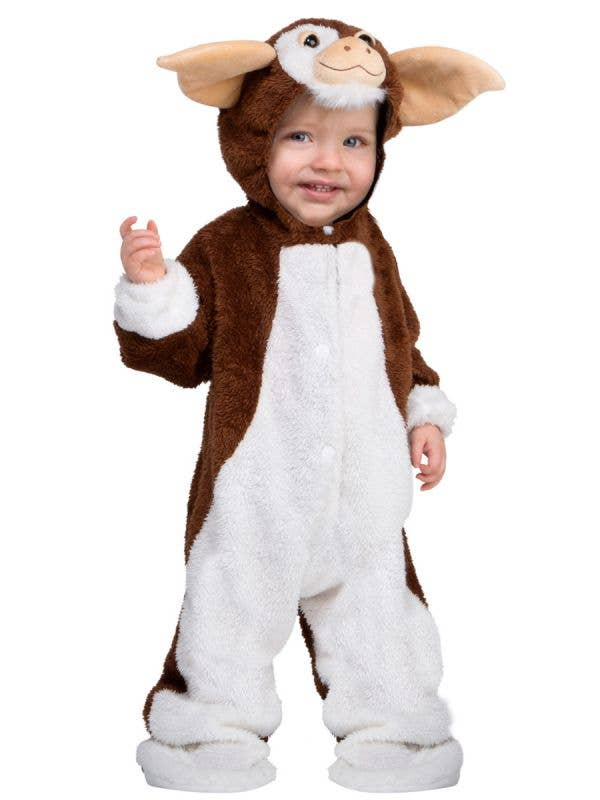 Kid's Mischief Maker Gizmo Toddler Jumpsuit Costume View 1