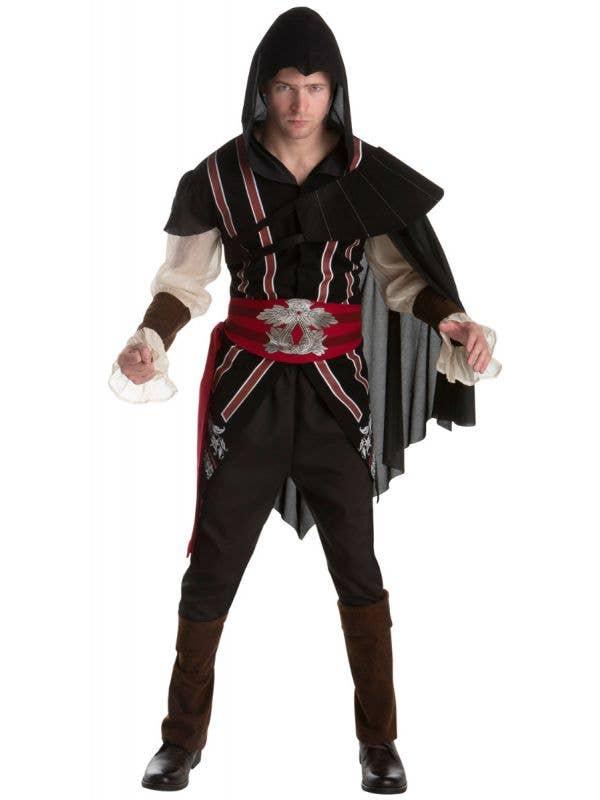 Men's Ezio Auditore Assassins Creed Fancy Dress Costume Main Image