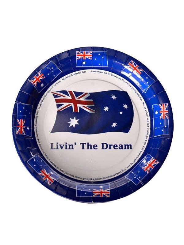 sc 1 st  Heaven Costumes & Australia Day Round Party Plates | Australia Day Paper Plates