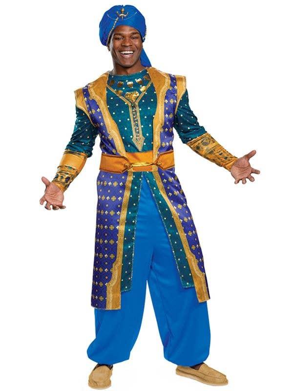 Disney Aladdin Genie Men's Dress Up Costume Front Image