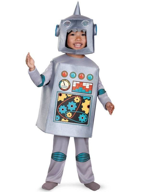Toddler Boys Retro Robot Costume