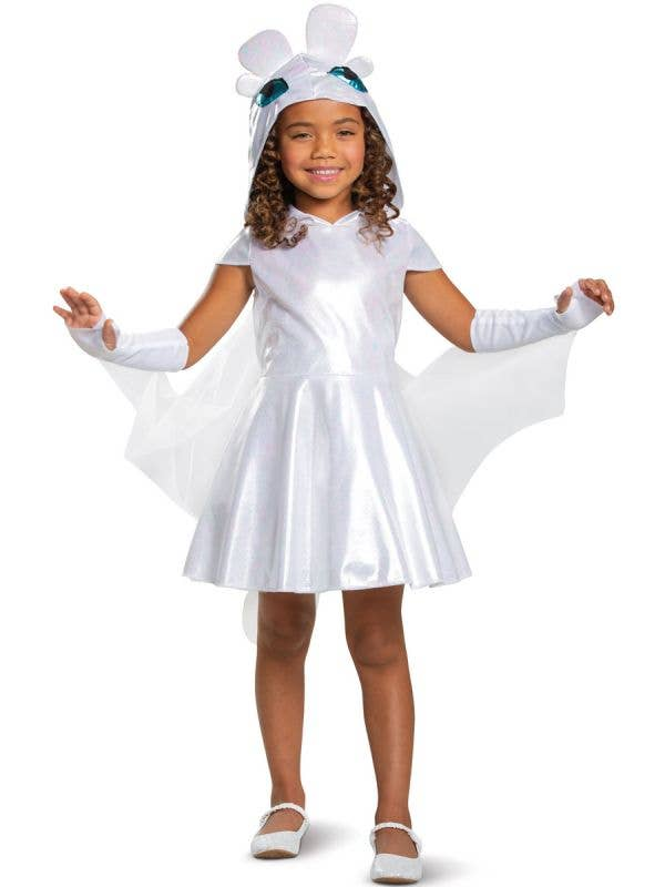 Light Fury Girls How To Train Your Dragon Dress Up Main Image