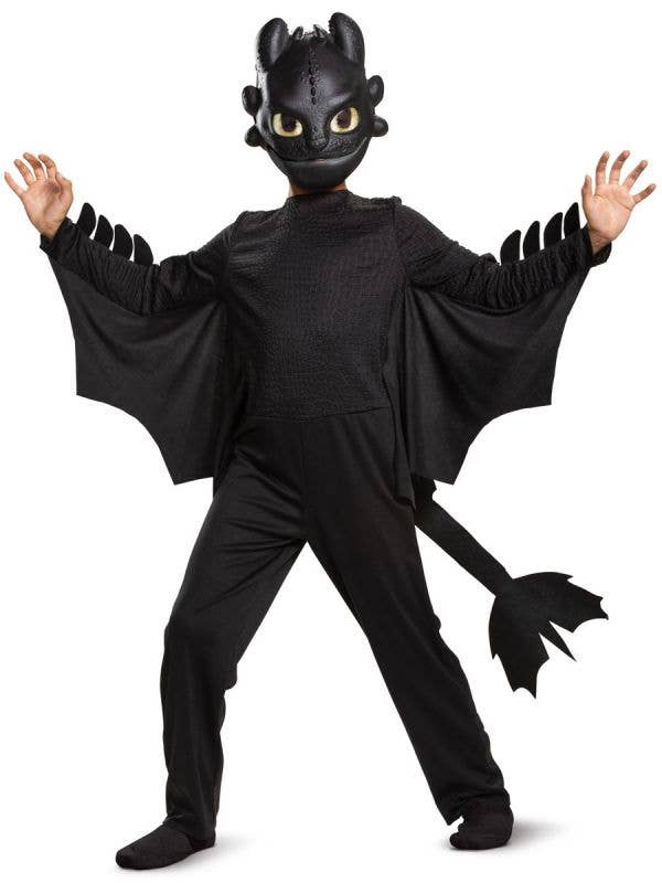 How To Train Your Dragon Toothless Dress Up Costume Main Image