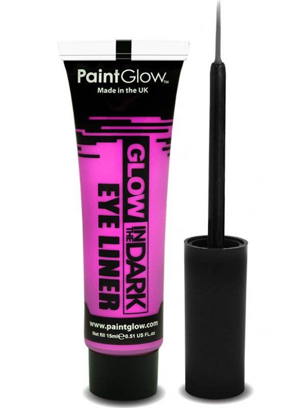 Neon Pink Glow In The Dark Eyeliner Base Image