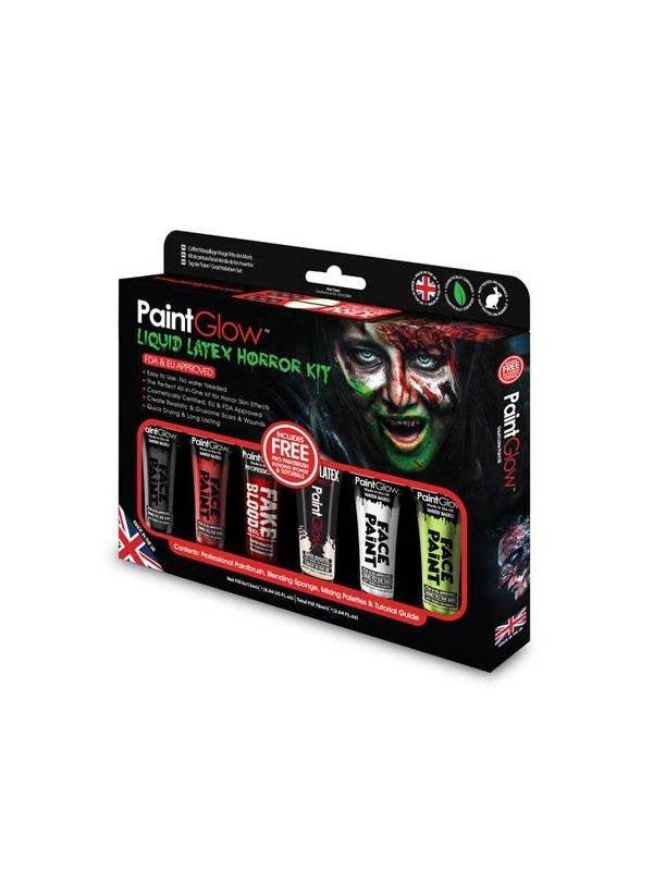 Liquid Latex and Blood Horror Halloween Makeup Kit