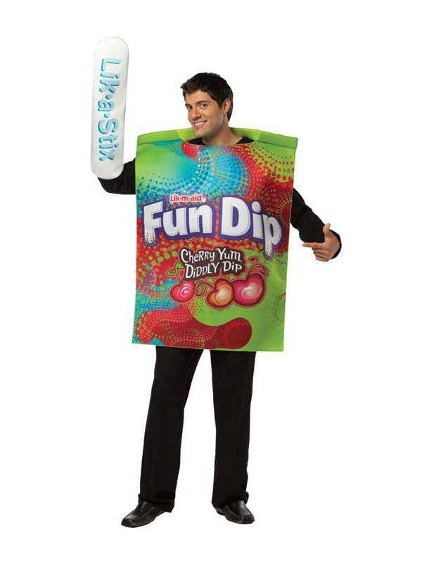 Men's Novelty Fun Dip Candy Fancy Dress Costume Main
