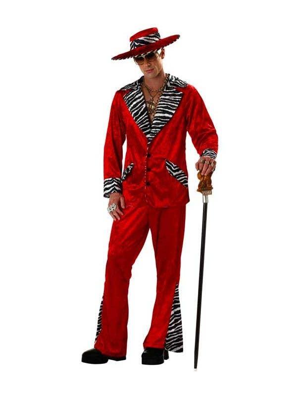 Playa Pimp Men s Hustler Costume b9acdd289a54