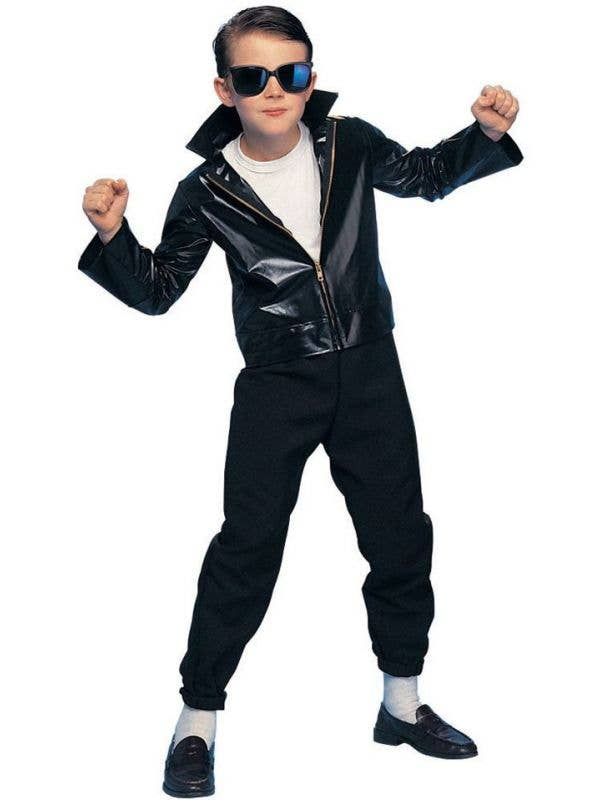 d7ef02886 1950's Greaser Boys Costume | Kids T-Birds Grease 50's Costume