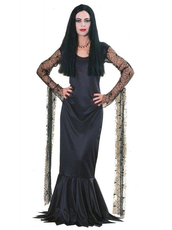 Women's Licensed Morticia Addams Halloween Costume