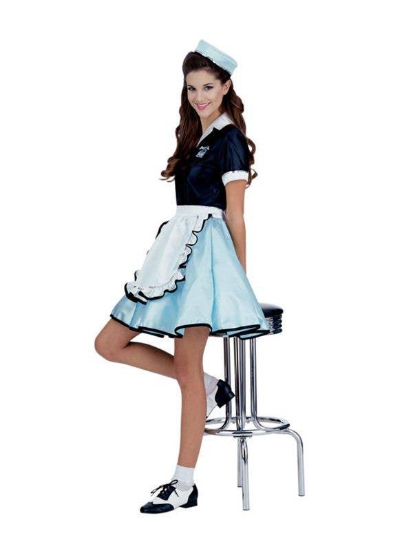 64d80db3c30e Car Hop Girl Women's 1950's Costume, Diner Girl Costume