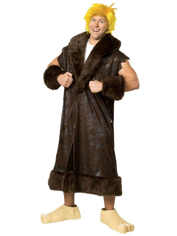 The Flinstones Barney Rubble  Plus Size Men's Fancy Dress Costume Main Image