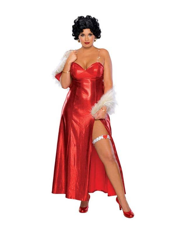 plus size betty boop costume womens red betty boop costume