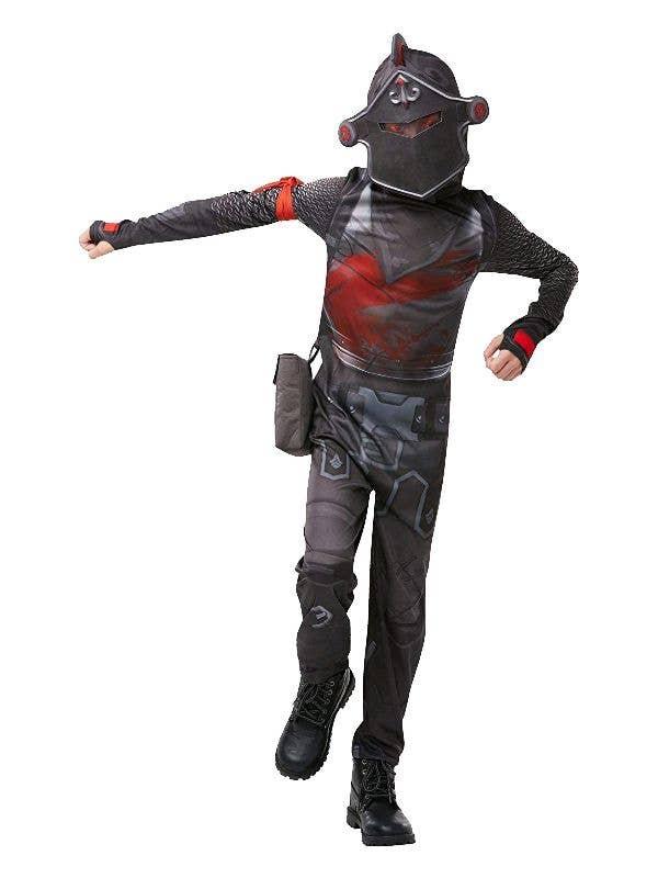 3a83e5d197571 Fortnite Black Knight Boys Video Game Book Week Fancy Dress Costume Main  Image