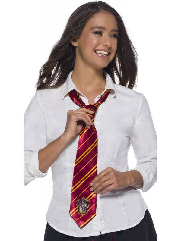Licensed Harry Potter Gryffindor Tie Accessory main image