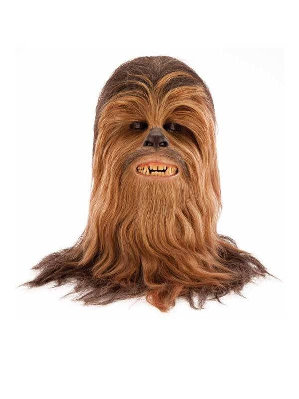 Move your mouse over image or click to enlarge  sc 1 st  Heaven Costumes & Chewbacca Deluxe Costume Mask | Supreme Edition Chewbacca Mask