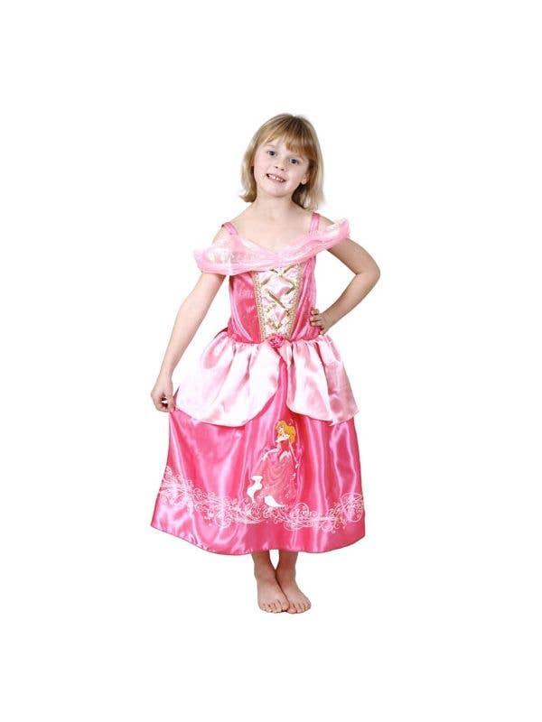Disney Princess Girl's Sleeping Beauty Costume Front View