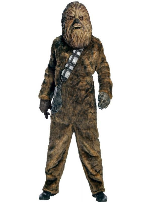 Deluxe Adult's Star Wars Chewbacca Fancy Dress Costume
