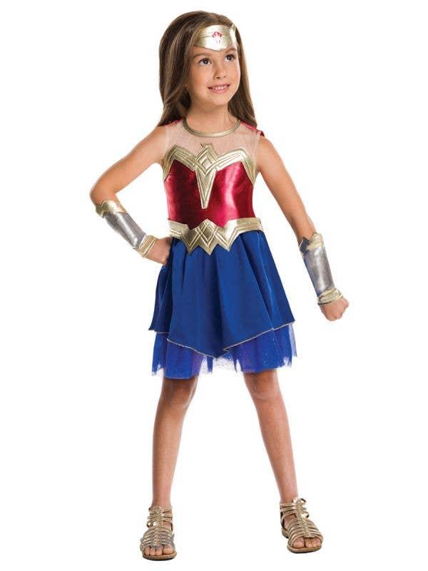 Girls Dawn Of Justice Girls Wonder Woman Costume Main Image
