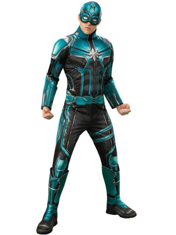 Men's Starforce Commander Kree Yon-Rugg Captain Marvel Costume Image
