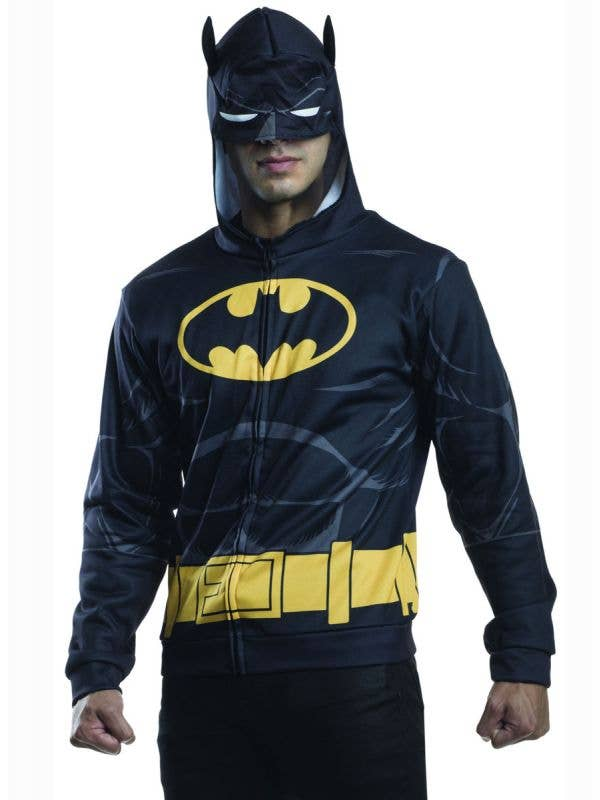 Superhero Hooded Batman Costume Jumper
