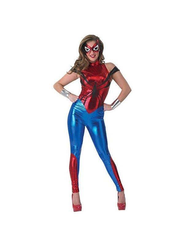 Halloween Costume 500.Spidergirl Jumpsuit Marvel Costume Licensed Spidergirl Costume
