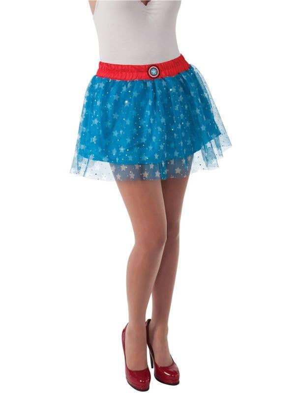 American Dream Glitter Marvel Costume Skirt Main Image