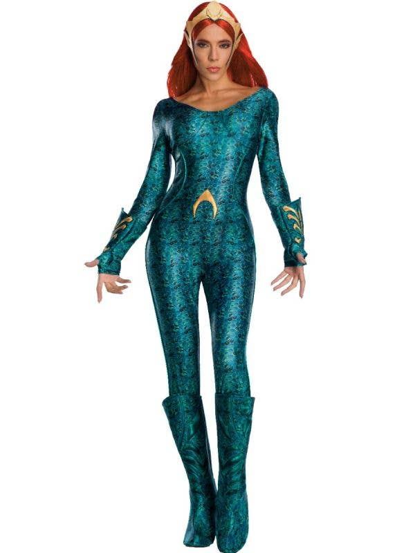 Mera Aquaman Deluxe Women's Costume