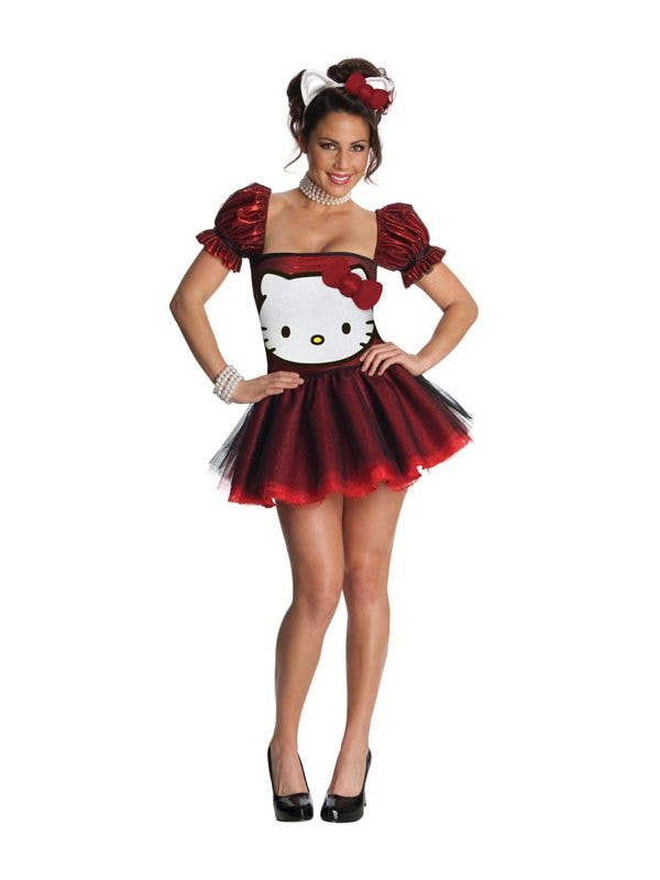 Red Hello Kitty Sexy Women s Costume  1703a63779