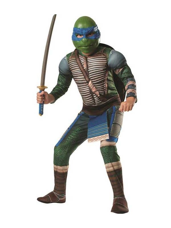 Men's Leonardo Teenage Mutant Ninja Turtles Costume Front