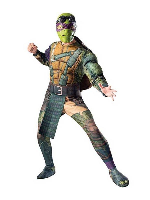 Men's Donatello Teenage Mutant Ninja Turtles Costume Front