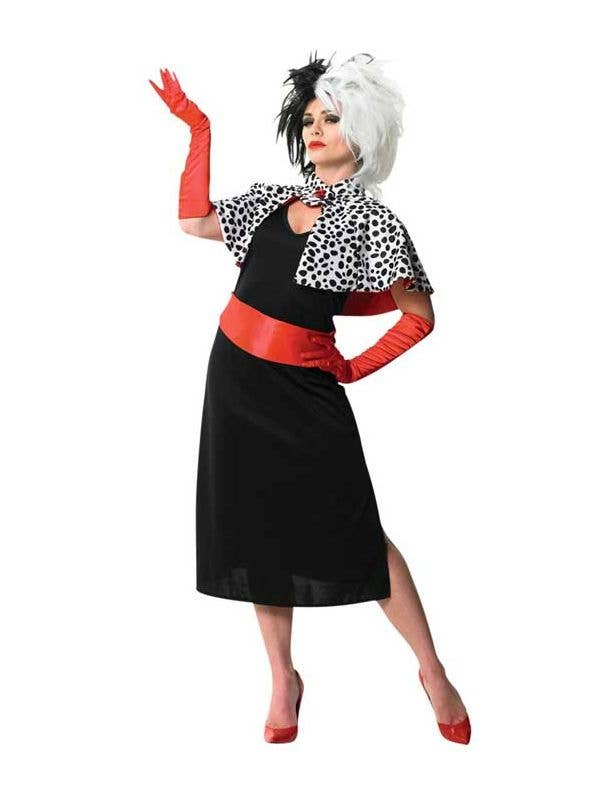 Cruella De Vil Women S Costume 101 Dalmations Disney Costume