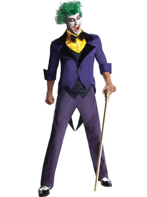Men-s DC Comics Joker Fancy Dress Batman Themed Costume