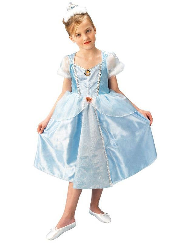 Girlu0027s Cinderella Princess Costume Front View