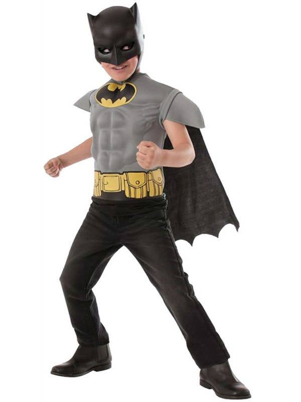 Boy's Classic Batman Superhero Dress Up Front
