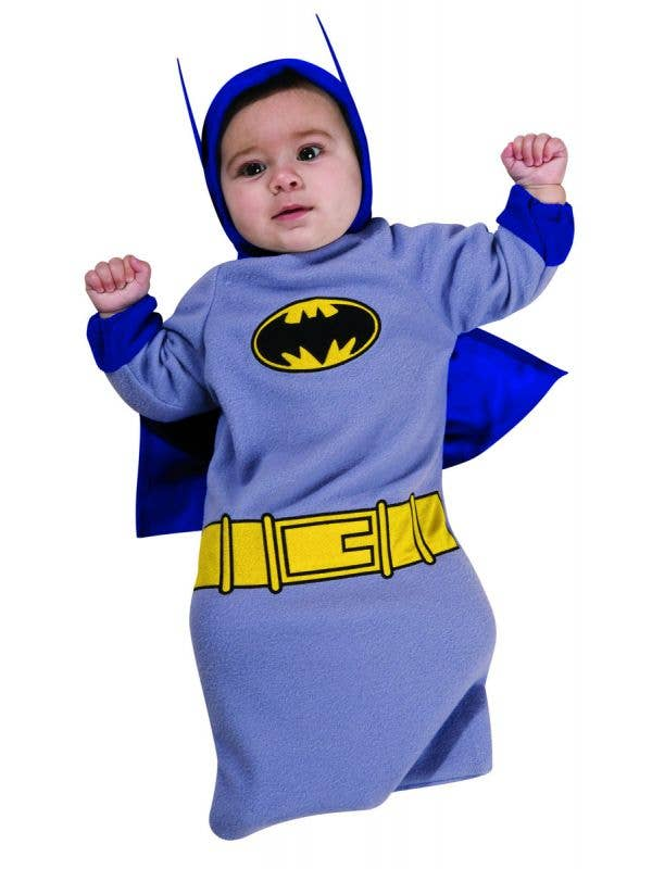 Baby Batman Bunting Fancy Dress Costume