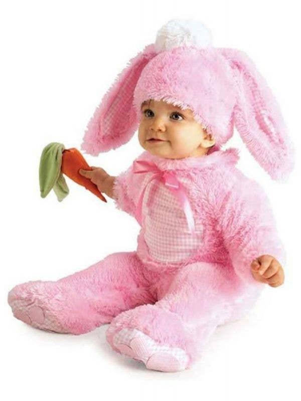 Baby Girls Pink Bunny Rabbit Fancy Dress Costume