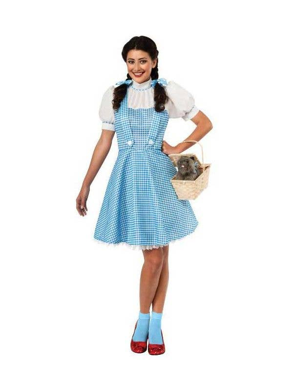 d29f3b72c7171 Classic Adults Dorothy Costume   Wizard Of Oz Women s Costume