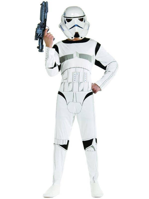 Classic Stormtrooper Men's Fancy Dress Costume Front View