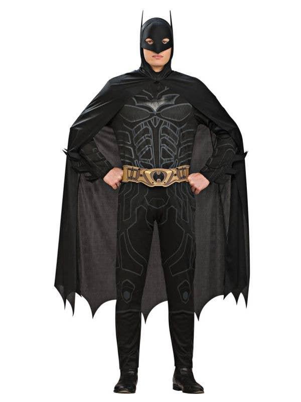 Licensed Men's Dark Knight Batman Fancy Dress Costume