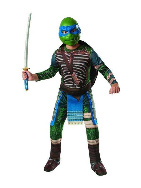 Leonardo Boy's Teenage Mutant Ninja Turtle Costume Front View